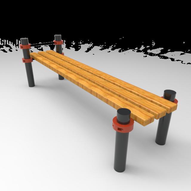 Тренажер-003(скамейка для пресса)
