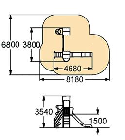Детский игровой комплекс-009 (ДИК-009)