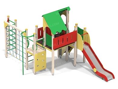 Детский игровой комплекс-012 (ДИК-012)