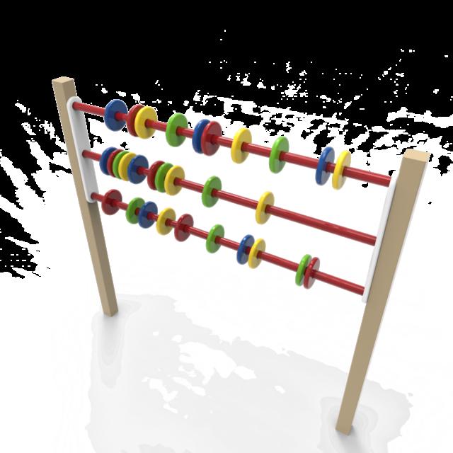Игровая панель-003(счеты)