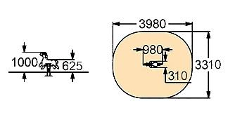 Качалка на пружине -002 (КП-002)