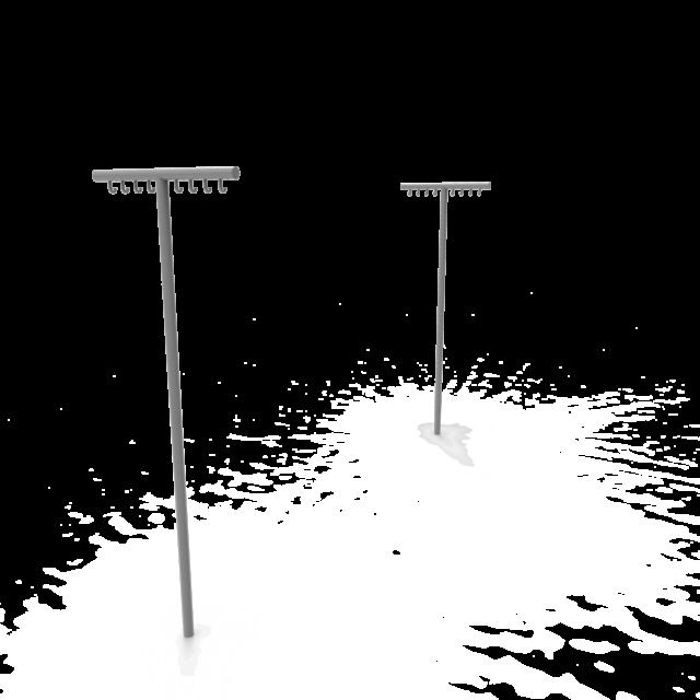Бельевая стойка-003