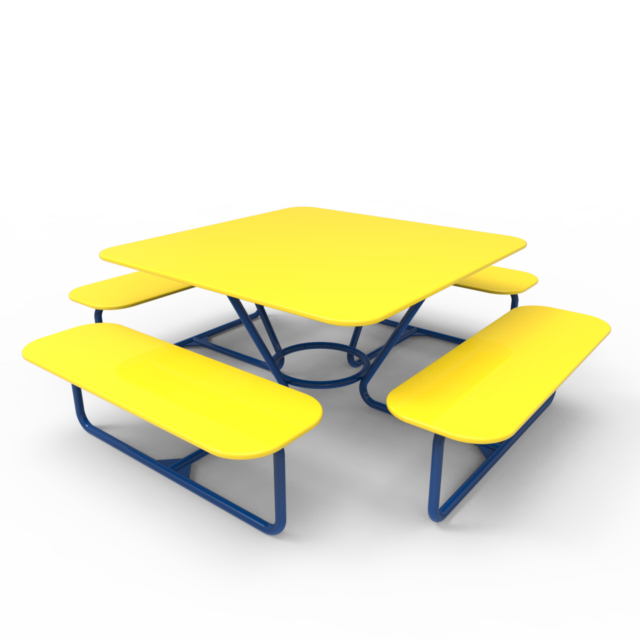 Скамейка-002(с четырьмя сиденьями)