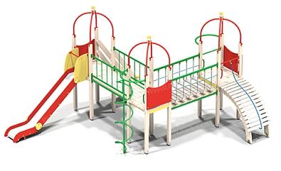 Детский игровой комплекс-001 (ДИК- 001)