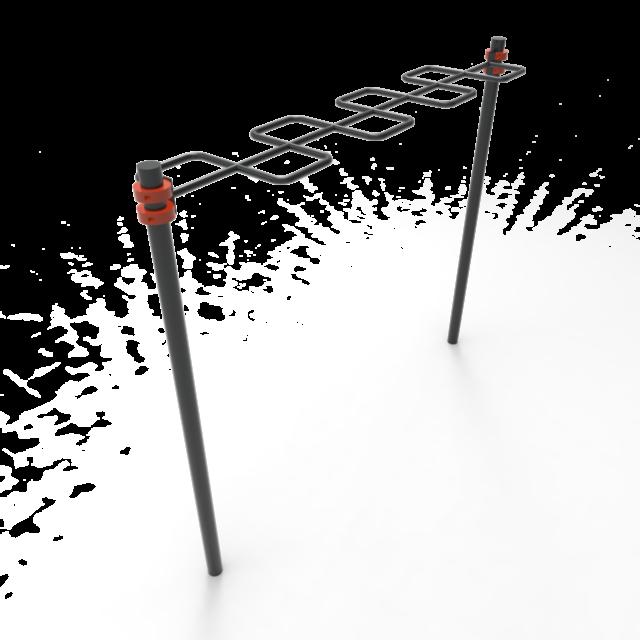 Тренажер-009(рукоход змейка)