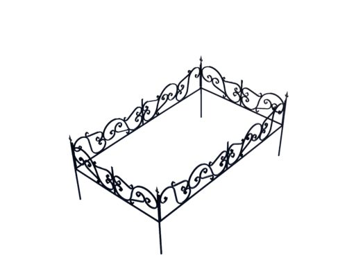 ОК-09 Ограда кованая 2100*1200*550 мм